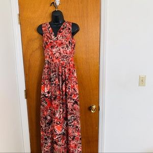 Andrew Marc Size 2 Maxi Dress Polyester